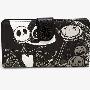Loungefly Disney NBC Jack Spiral Hill Wallet